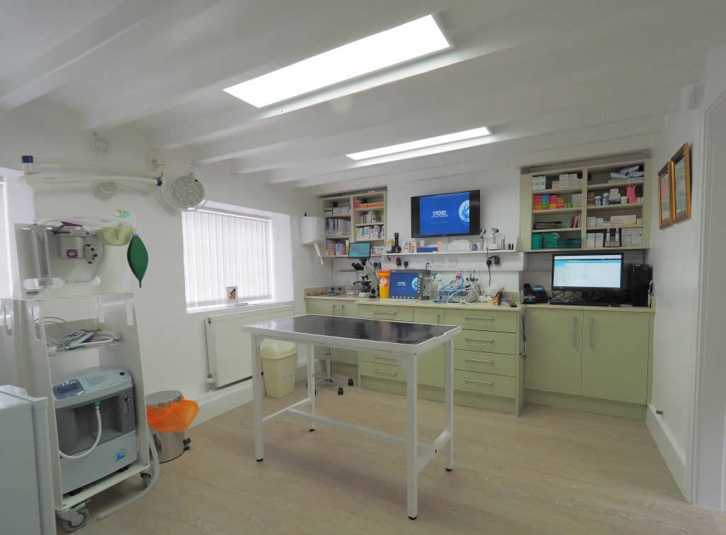Consulting Room at Dermvet, Groby, Leicester
